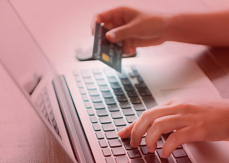 Vendas on-line em crescimento